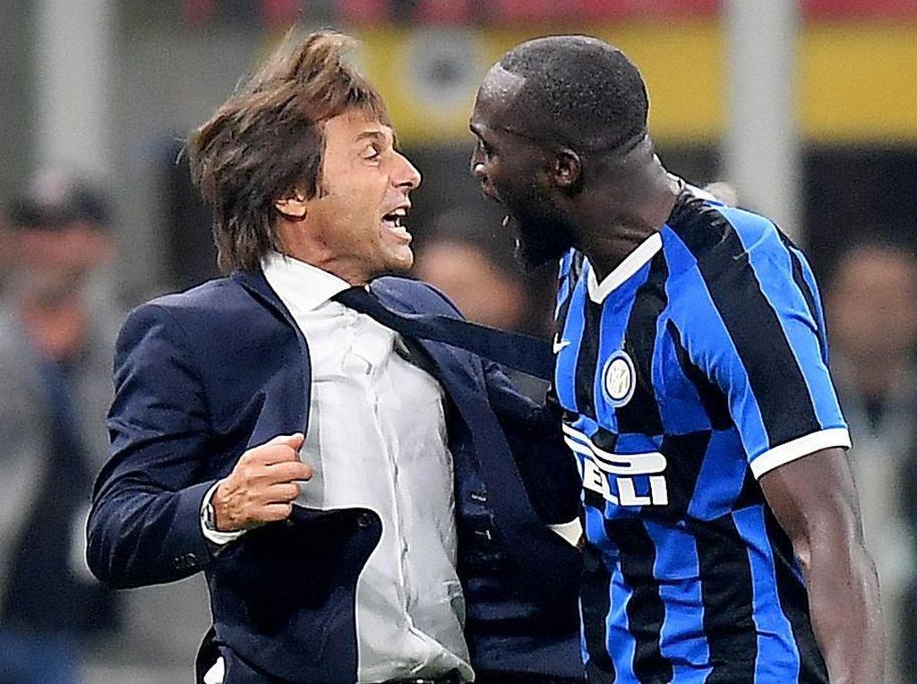 Lukaku Rajin Cetak Gol di Inter, Conte Minta Lebih