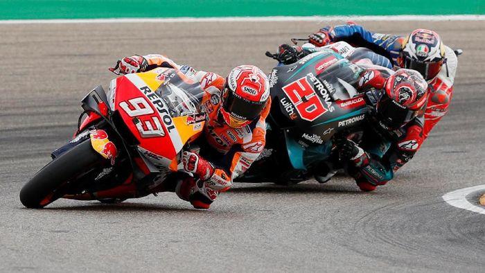 Marc Marquez juara MotoGP Aragon tanpa tertandingi (Albert Gea/REUTERS)