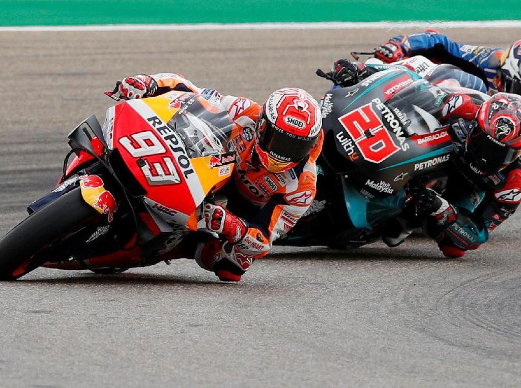 Marquez Dominan di Aragon, Dovizioso Finis Kedua