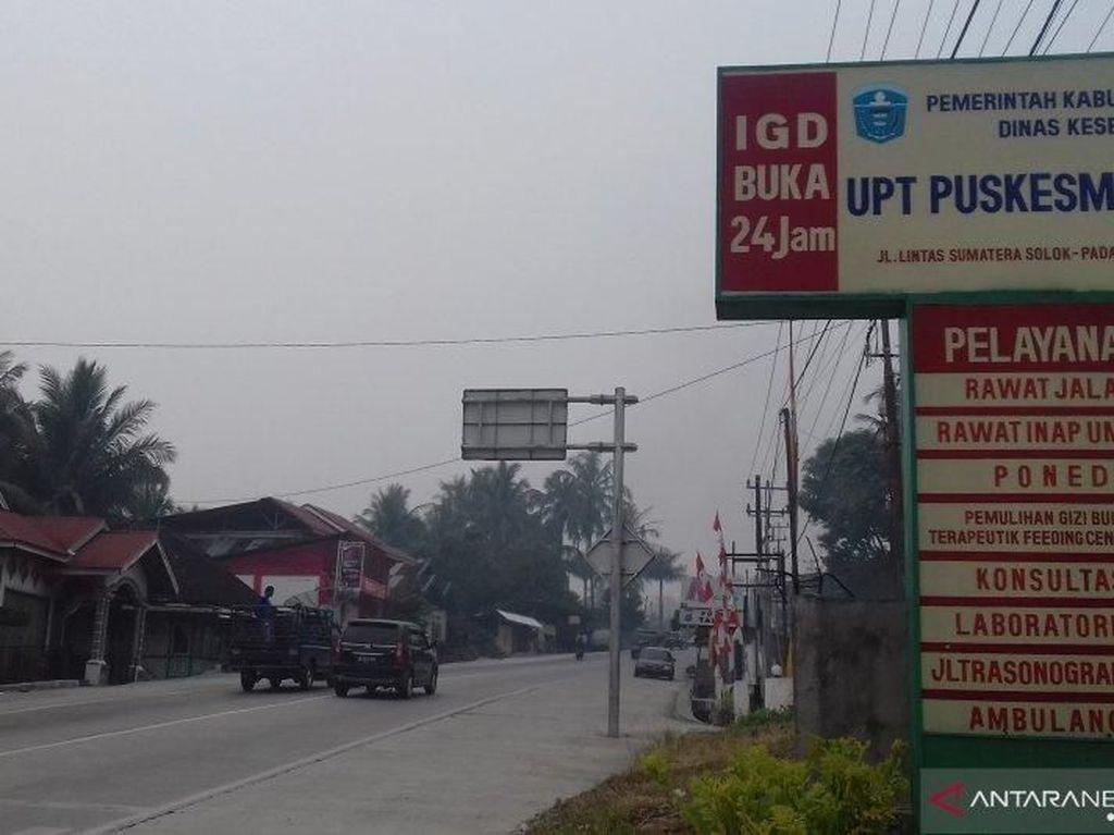 Sekolah di Solok Sumbar Diliburkan 3 Hari karena Kabut Asap