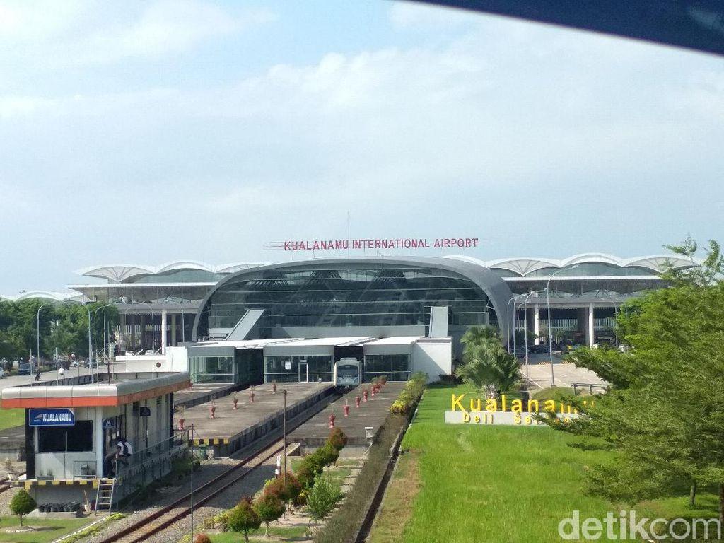 Penerbangan Mudik di Zona PSBB-Merah Dilarang, Kualanamu Tetap Beroperasi