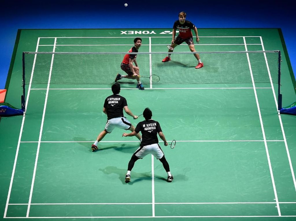 Jadwal Final China Open: Anthony Vs Momota, Kevin/Marcus Vs Ahsan/Hendra