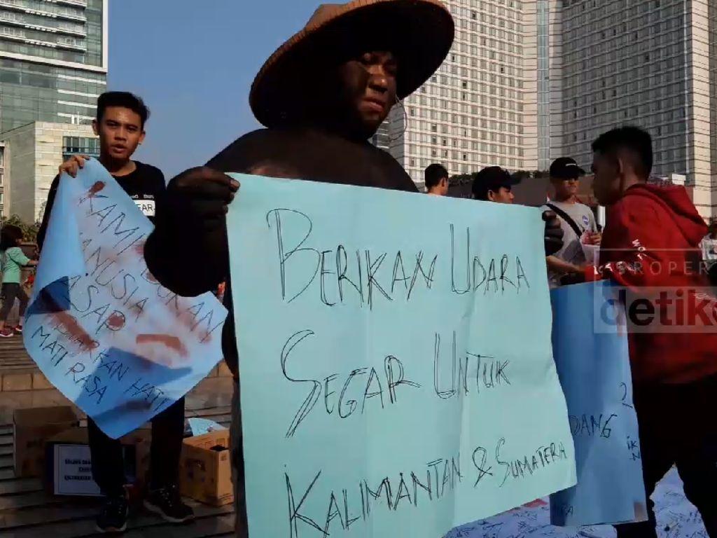 Aksi 1 Juta Masker, Jurnalis Galang Dana untuk Korban Karhutla