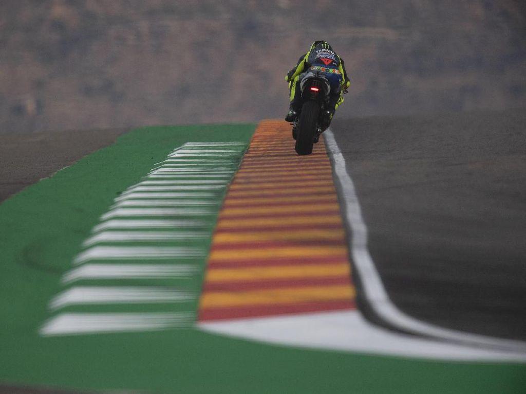 Rossi Finish ke-8 MotoGP Aragon, Bukan karena Swingarm Karbon