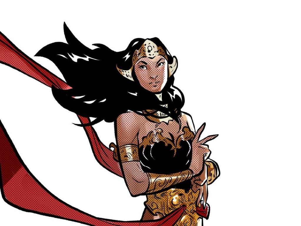 Archie The RedCat Deg-degan Tulis Cerita Superhero Legenda Sri Asih