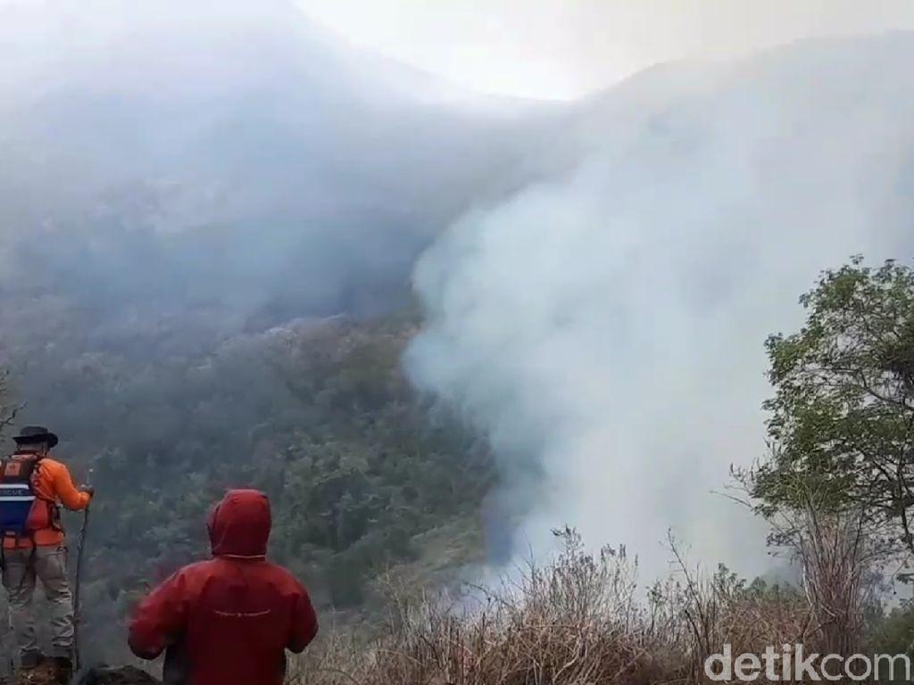 BPBD Jateng: Kebakaran Gunung Slamet Belum Perlu Water Bombing