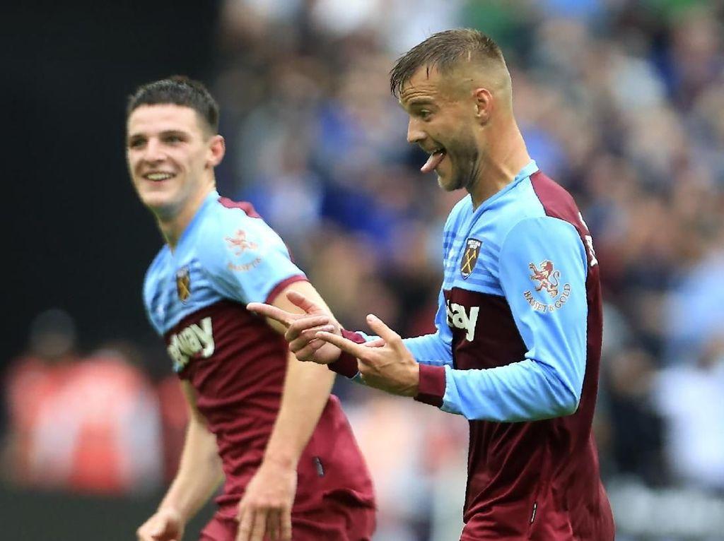 Babak I: West Ham Ungguli Man United 1-0