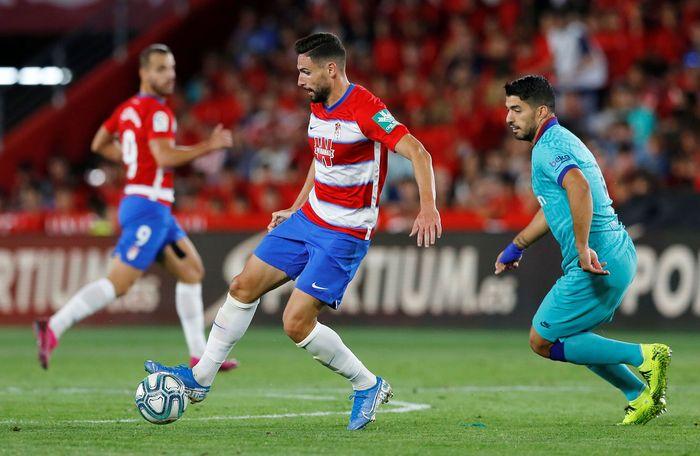 Duel Granada vs Barcelona di pekan kelima Liga Spanyol digelar di Estadio Nuevo Los Carmenes, Minggu (22/9/2019) dini hari WIB. Reuters/Marcelo Del Pozo.