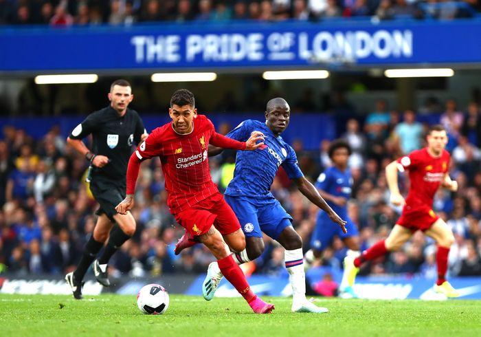 Chelsea vs Liverpool di pekan keenam Liga Inggris 2019/2020 sudah tuntas. The Blues kalah 1-2 atas The Reds di depan pendukungnya. Istimewa/Dan Istitene/Getty Images.