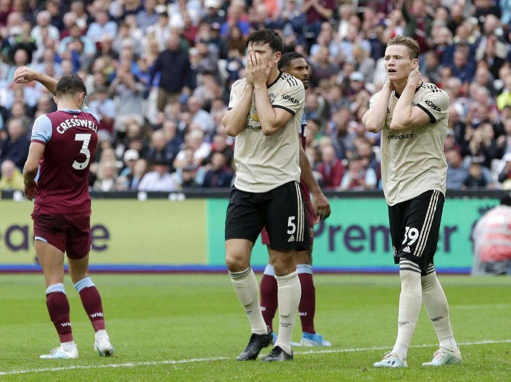 Manchester United Terkapar di Kandang West Ham