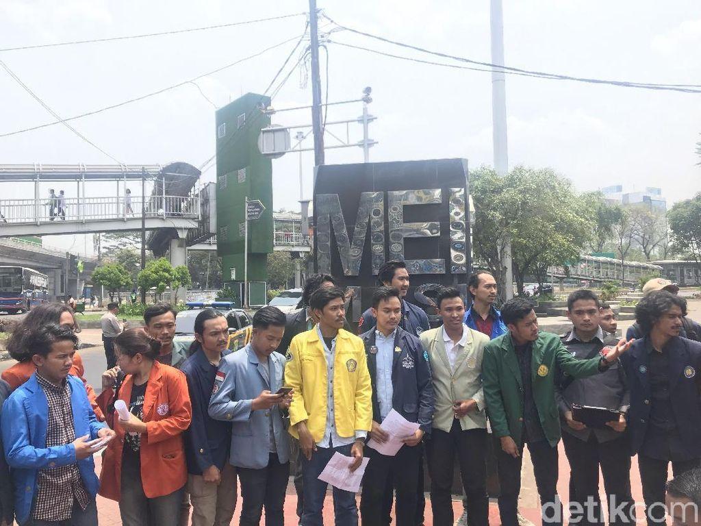 Aliansi Mahasiswa Nyatakan Puncak Demo di Istana-DPR Besok Bebas Politik