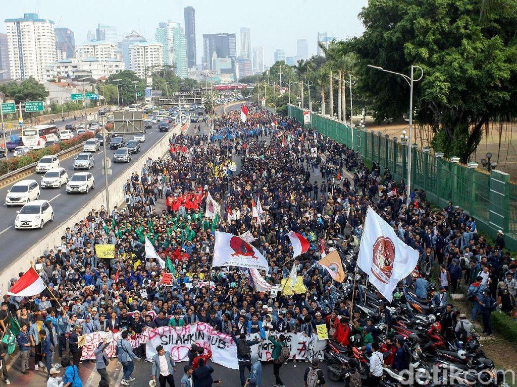 Jokowi Tolak Usulan Perppu Cabut UU KPK Baru, Mahasiswa Bakal Demo Lagi