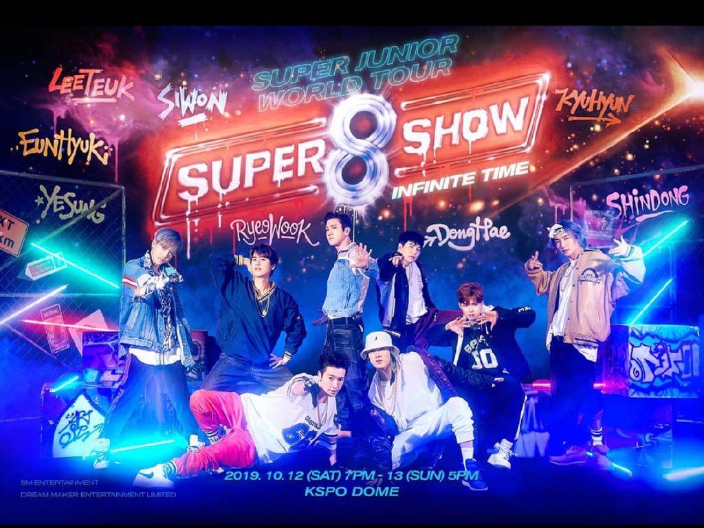 Tiket Konser Super Junior SS8 di Indonesia Dijual Besok Jumat!