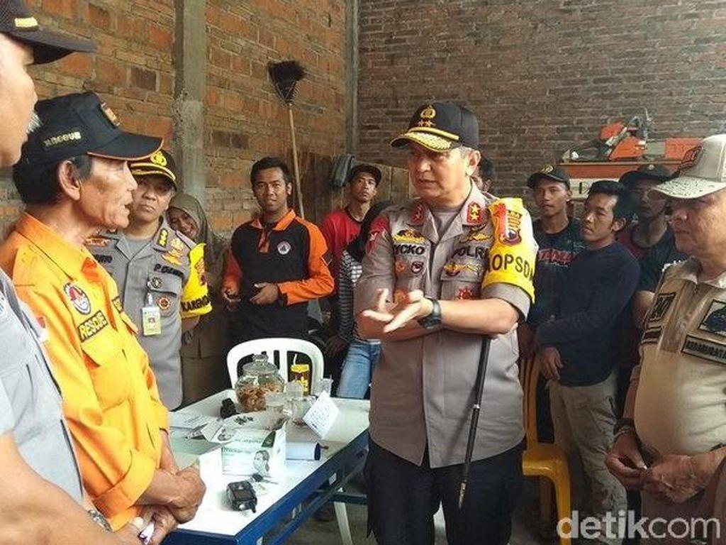 Kapolda Minta Muspida Temanggung Bantu Kebutuhan Relawan