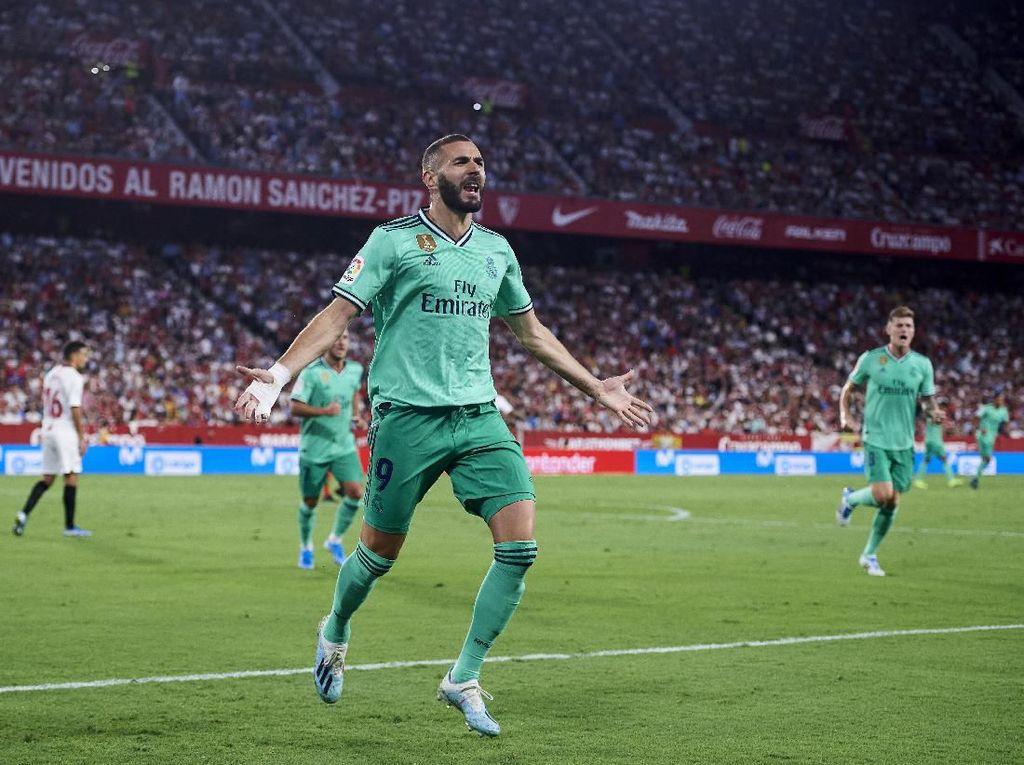 Karim Benzema Biasa Jadi Pemecah Kebuntuan Real Madrid