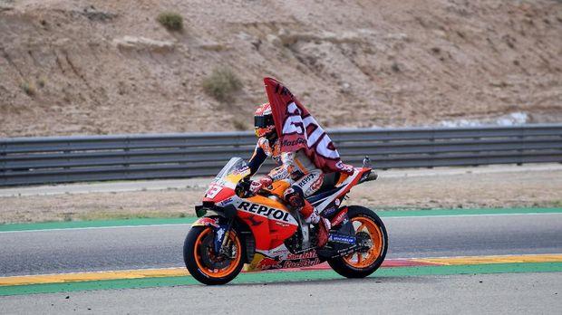 Marc Marquez mampu menarik potensi maksimal dari motor Honda.