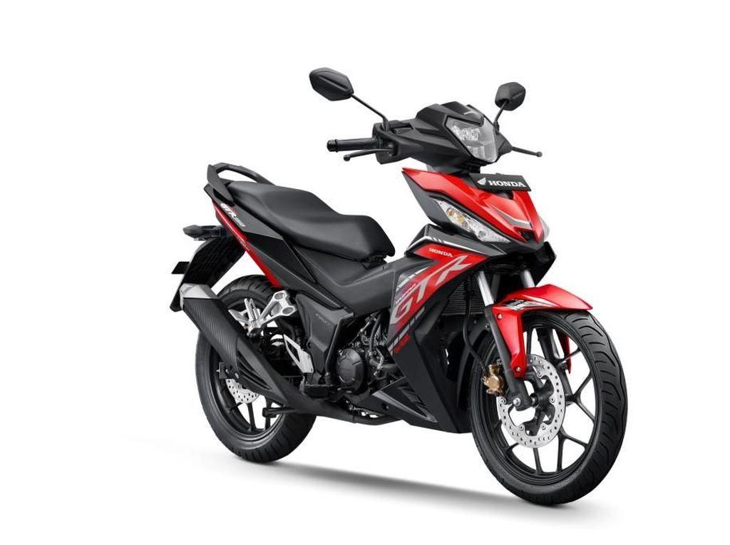 Garang Abis! Tampilan Baru Honda GTR150 Makin Anyar