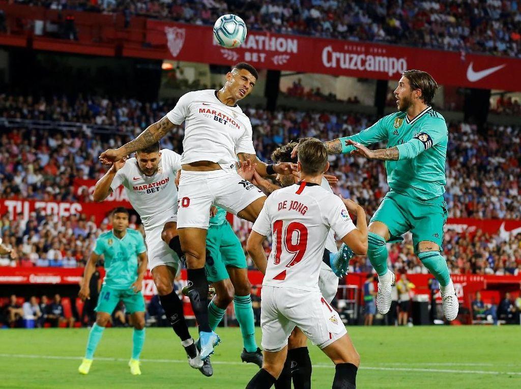 Madrid Bikin Sevilla Tak Berkutik