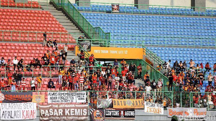 Beberapa laga kandang Persija Jakarta sepi penonton karena Macan Kemayoran sedang menurun. (Foto: Rachman Haryanto/detikcom)