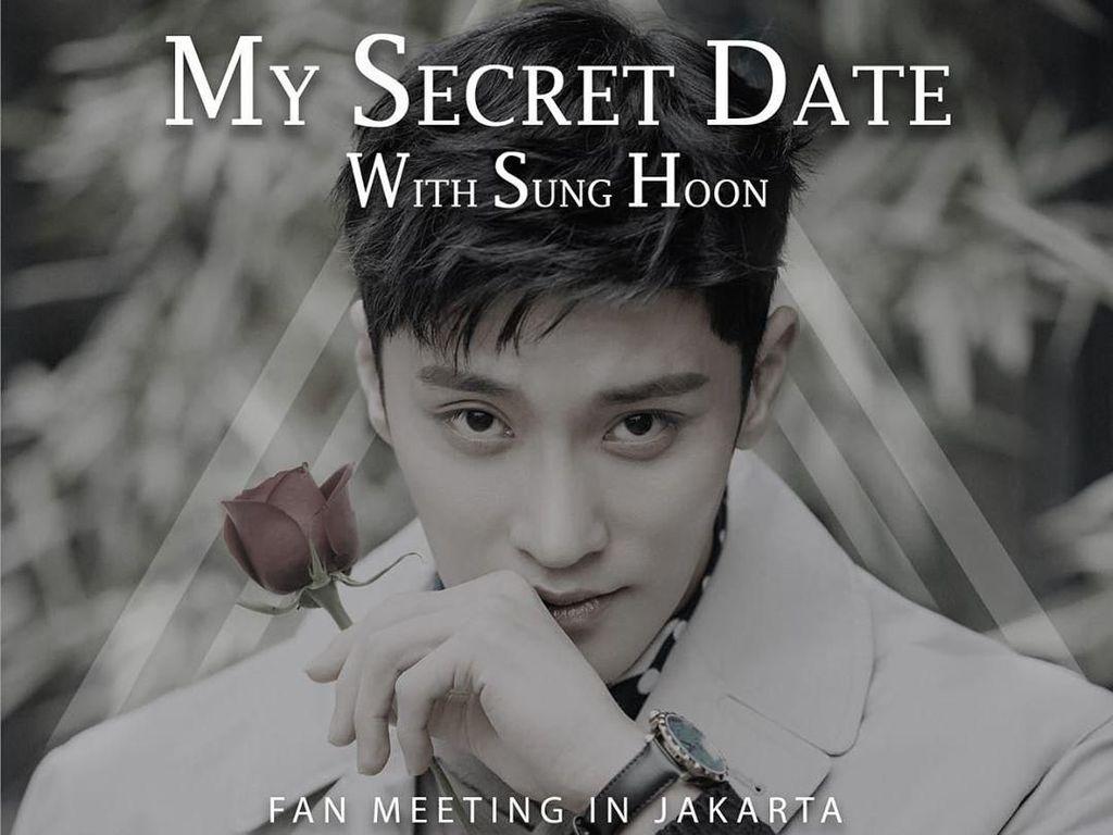 Congrats! Berikut Pemenang Tiket Fanmeeting Sung Hoon dari detikHOT