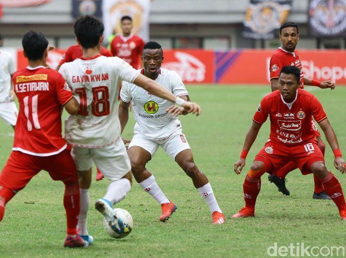 PT Liga Indonesia Baru mencari solusi penundaan beberapa laga Liga 1 2019. (Foto: Rachman Haryanto/detikcom)
