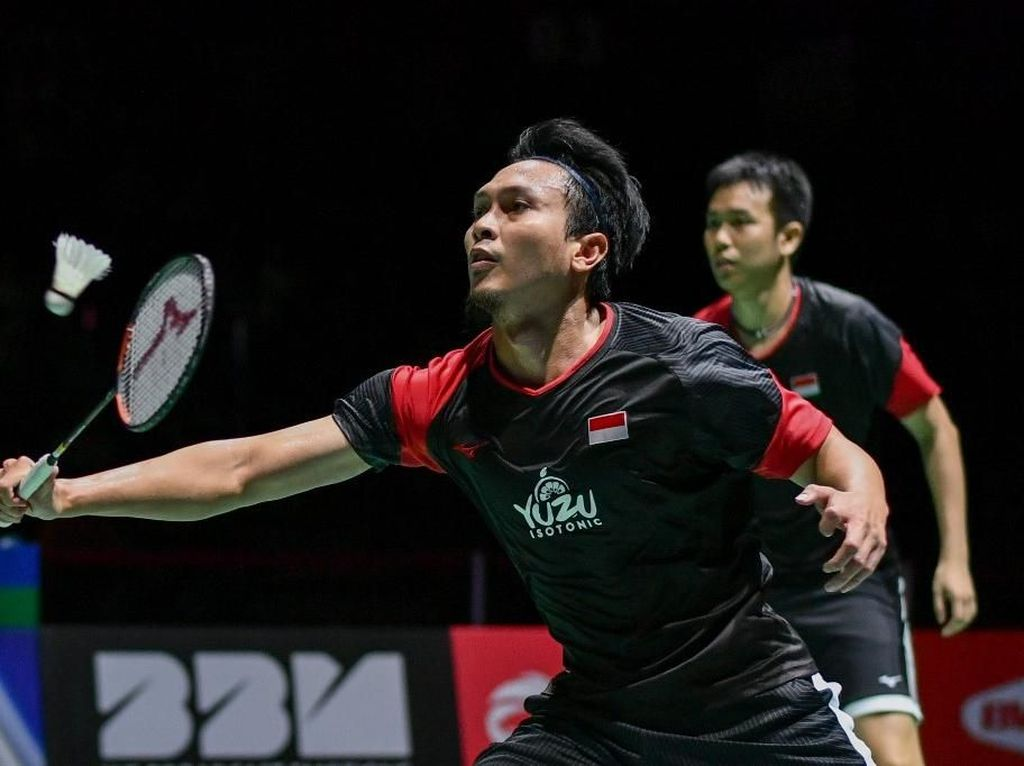 Hendra/Ahsan Melaju, All Indonesia Final Ganda Putra di Denmark Open