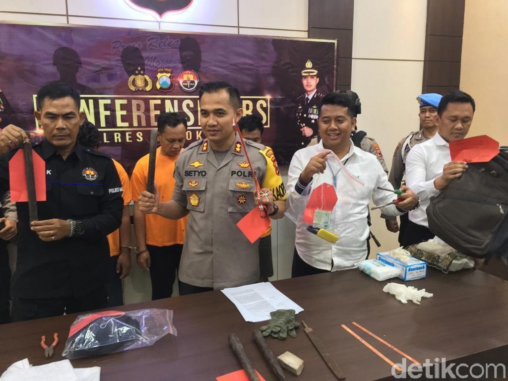 Spesialis Pembobol Gudang di Jatim Diringkus, 2 Pelaku Ditembak