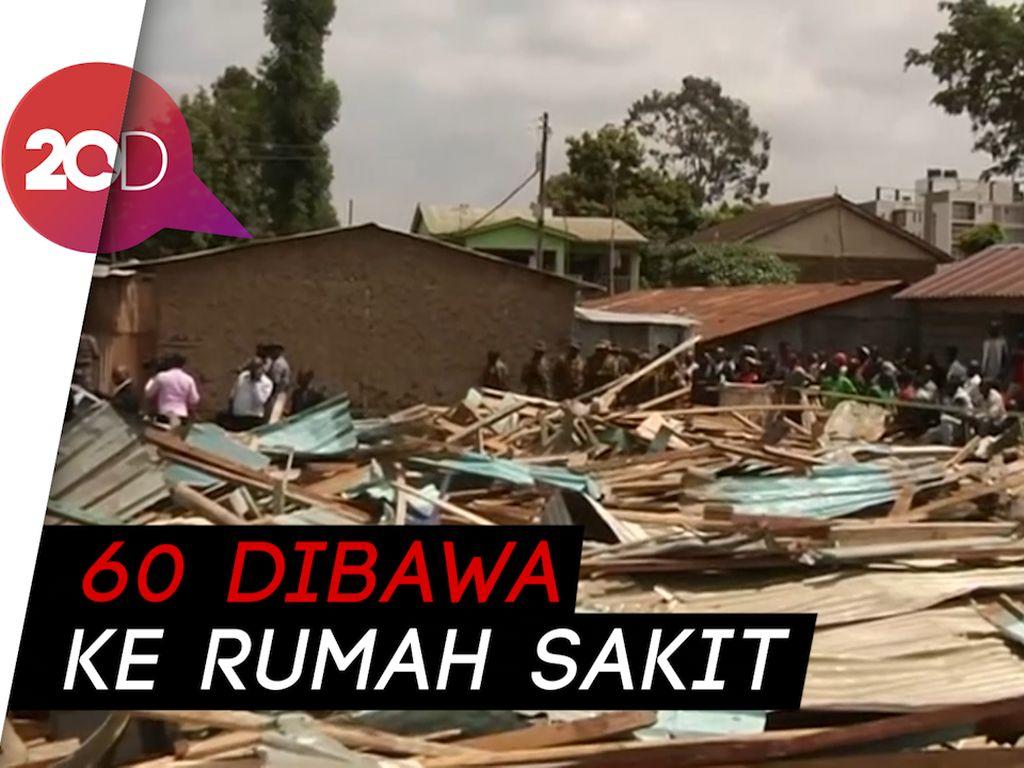 Bangunan Sekolah di Kenya Roboh, 7 Tewas