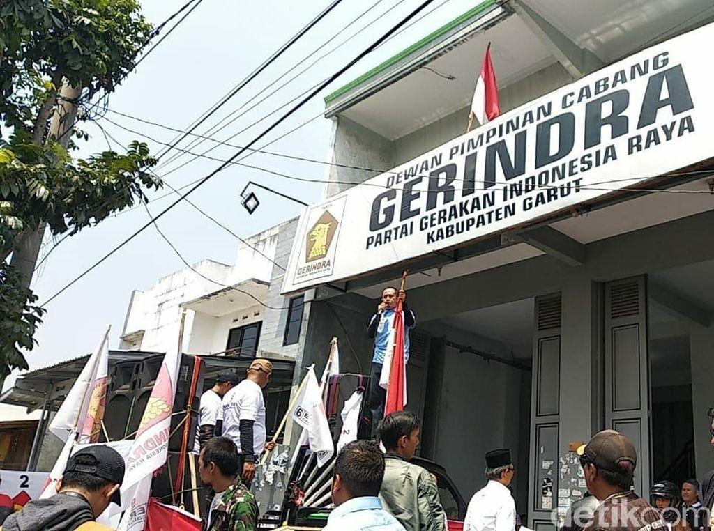 Mulan Jameela ke DPR RI, Gerindra Garut Digeruduk Pendukung Ervin