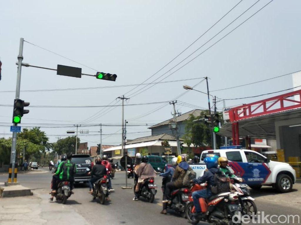 Geger Layar Traffic Light di Garut Dihack Tampilkan Kata Tak Senonoh