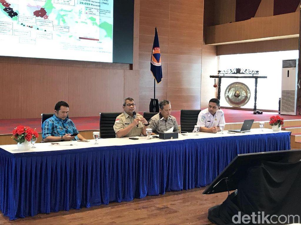 Warga yang Terkena ISPA Akibat Karhutla Capai 919 Ribu Orang