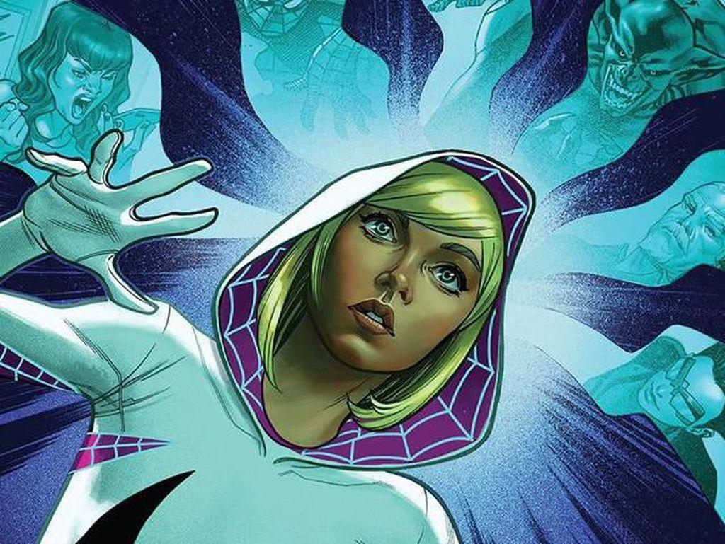 Begini Awal Cerita Gwen Stacy Jadi Superhero