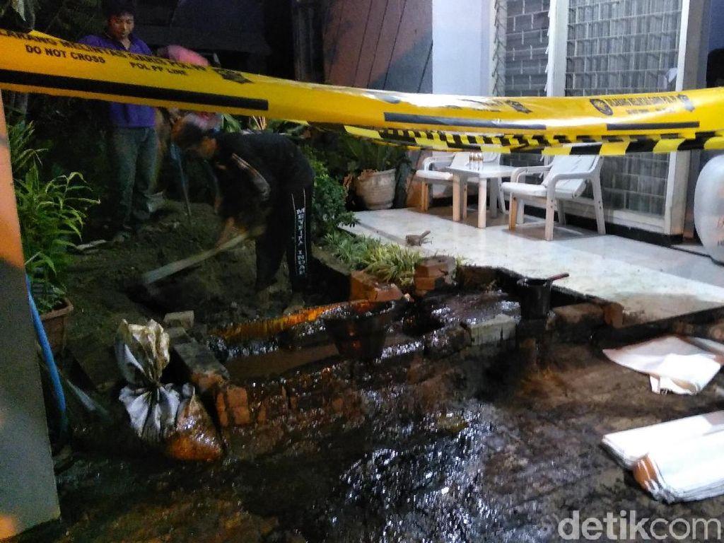 Kolam Penampungan Lumpur yang Menyembur di Surabaya Diperbesar