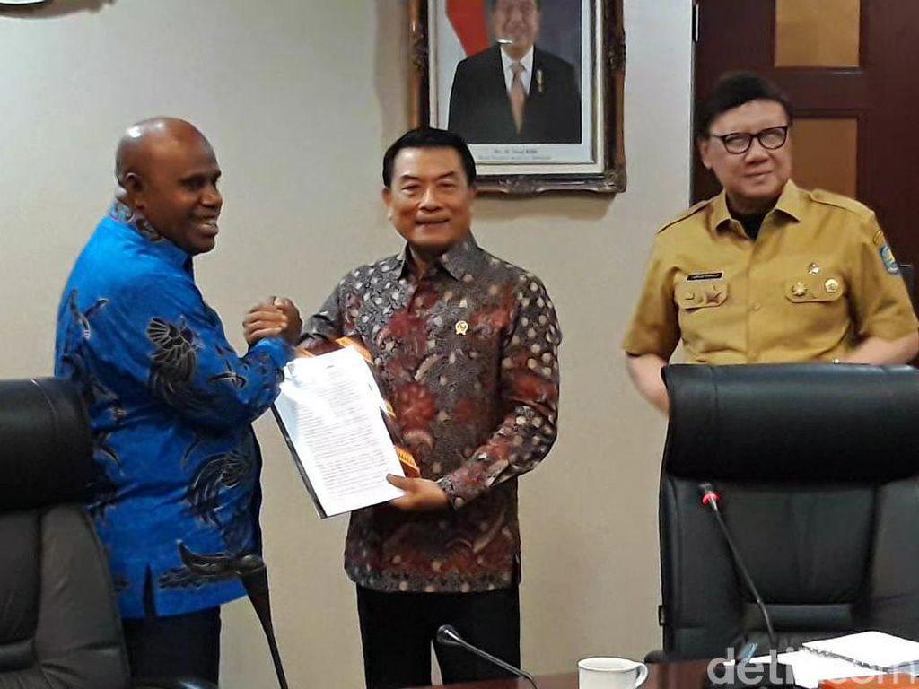 Ini 8 Tuntutan DPRD Papua dan Papua Barat ke Pemerintah
