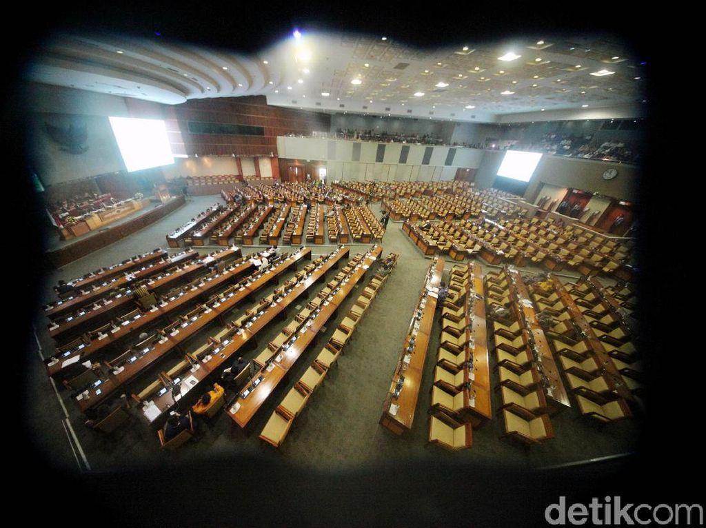 DPR-Pemerintah Sepakat Tunda Sahkan RUU Pemasyarakatan