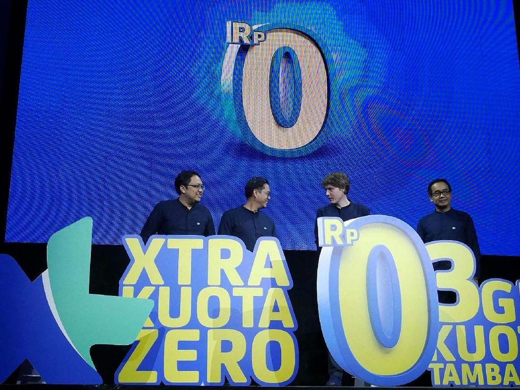 Xtra Kuota Zero Punya XL Tawarkan Internet Gratis