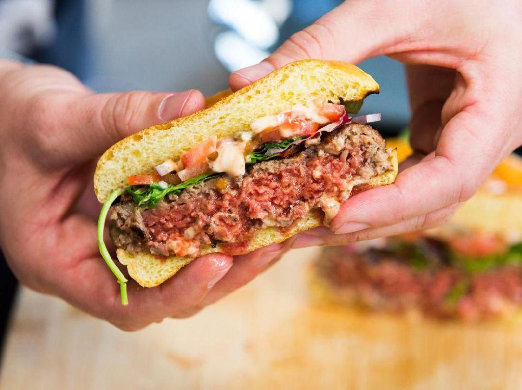 Burger Nabati yang Lagi Tren Sebagai Alternatif Burger Sehat