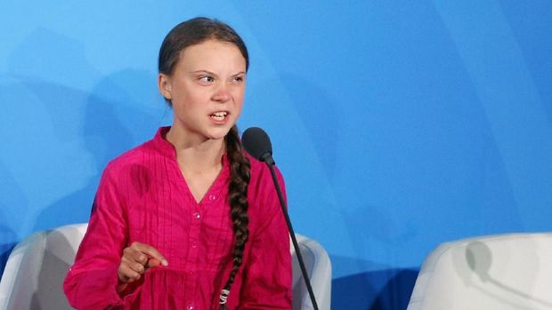 Greta Thunberg dan Geraman 'How Dare You' yang Mendunia