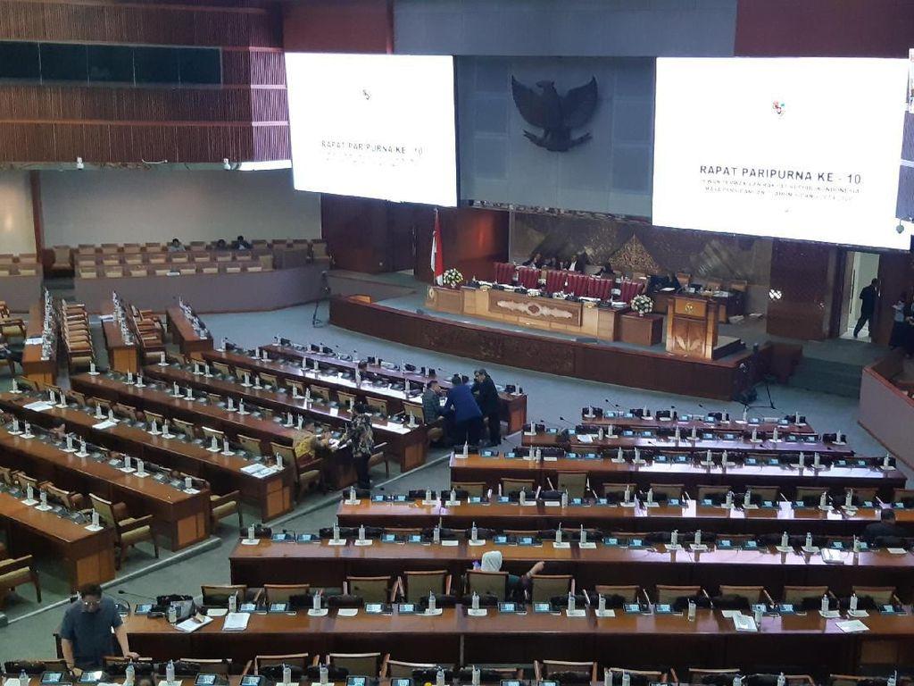 Tok! DPR Resmi Tunda Pengesahan RUU Pemasyarakatan