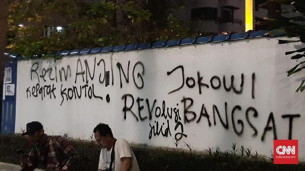 Ilustrasi vandalisme.