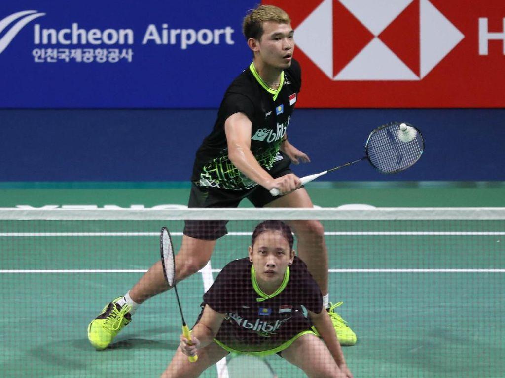Rinov/Mentari Susul Praveen/Melati ke Babak Kedua Korea Open