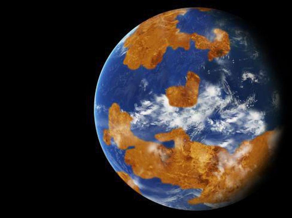 Mengejutkan, Planet Venus Pernah Bagaikan Bumi