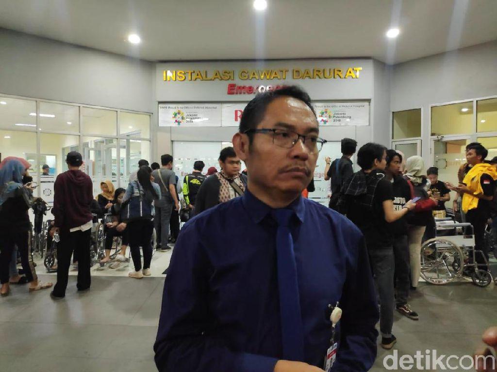 2 Mahasiswa Korban Demo Ricuh Masih Dirawat di RSPP, 1 Orang Dipulangkan