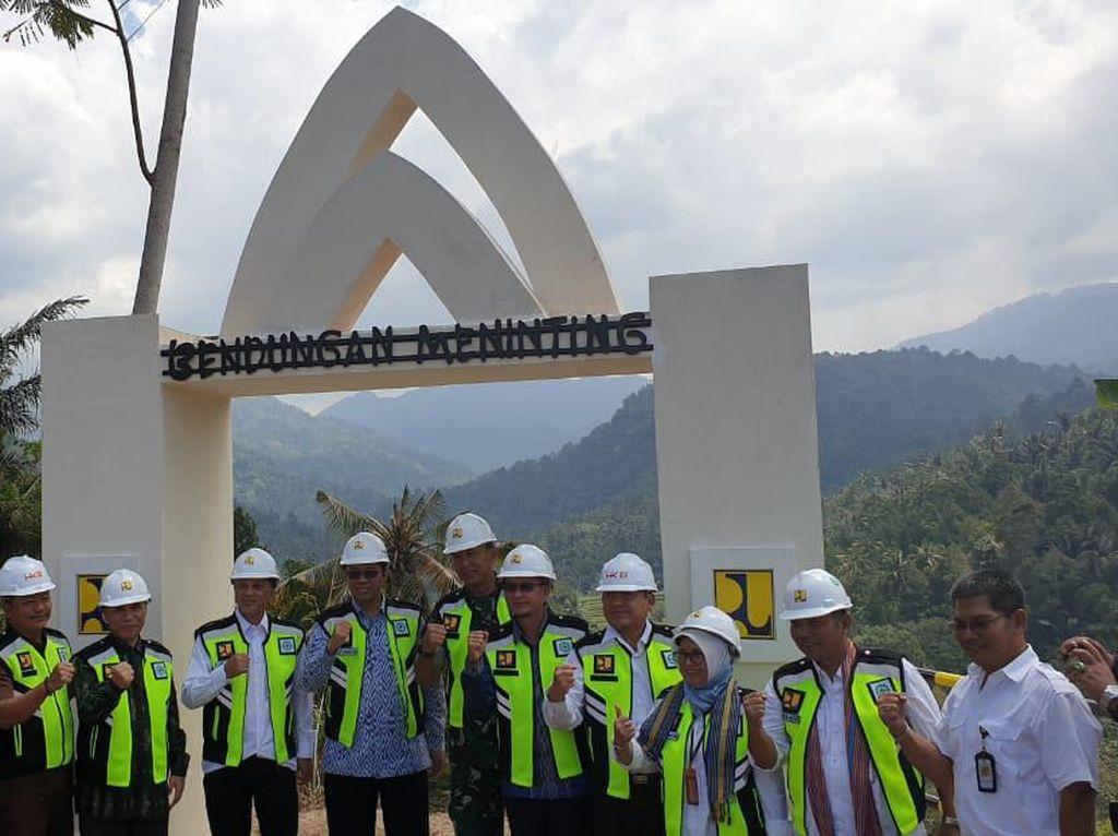 Hutama Karya Garap Proyek Bendungan Meninting di Lombok