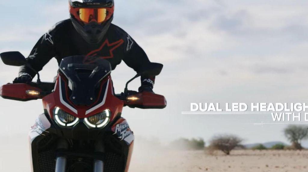 Mesin Honda Africa Twin Terbaru Lebih Bongsor