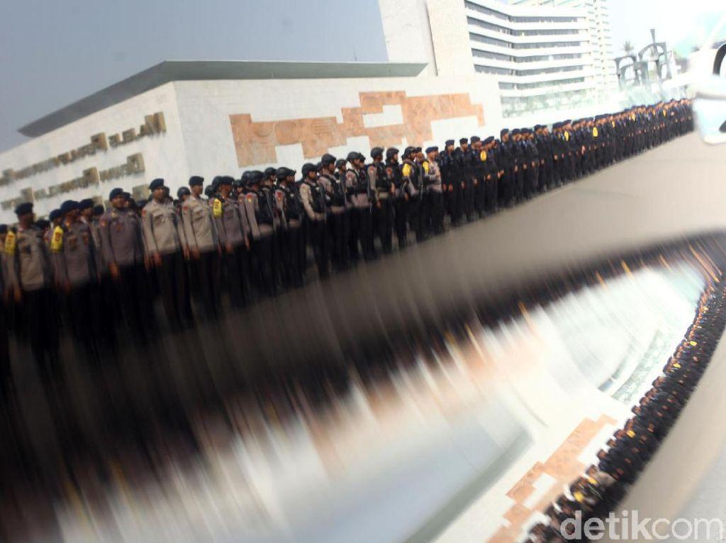 27 Ribu Personel TNI-Polri Amankan Pelantikan Presiden 20 Oktober Nanti