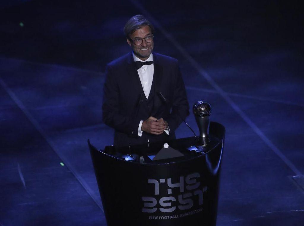 Juergen Klopp Rebut Penghargaan Pelatih Terbaik Dunia FIFA 2019