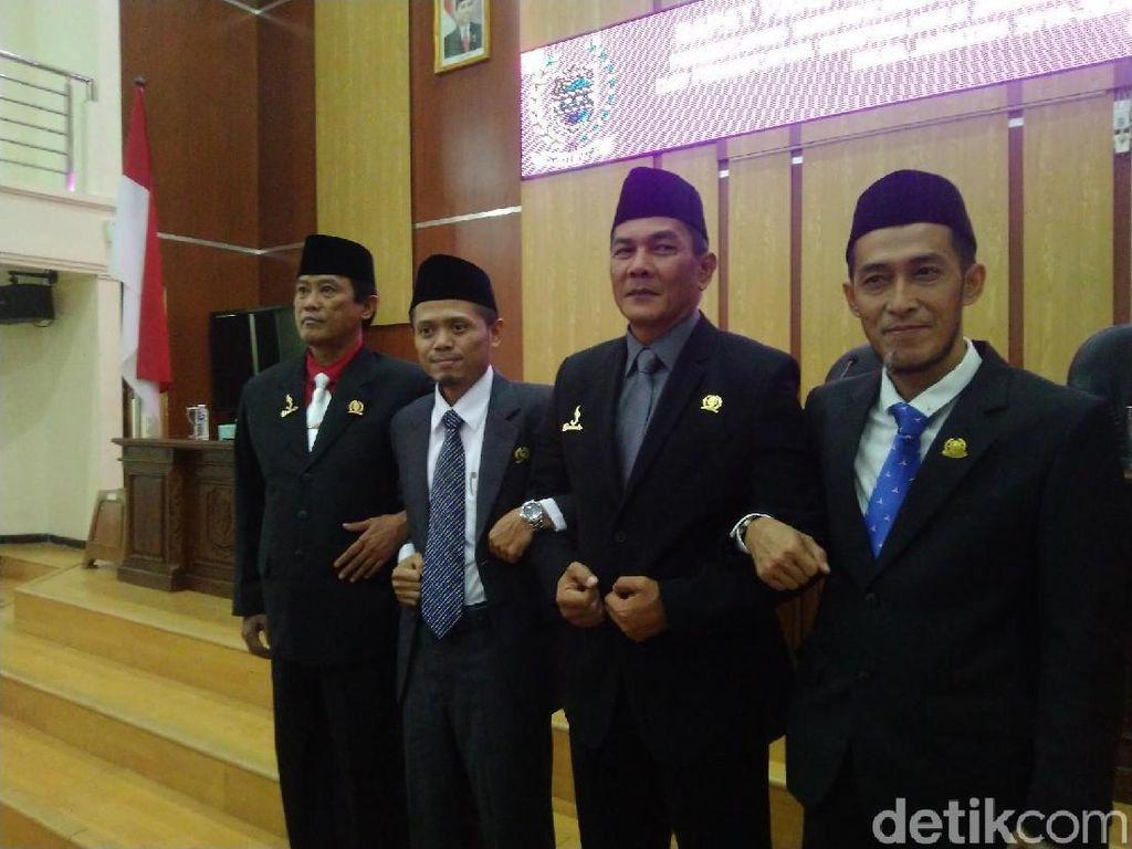 PDIP-PKS-Gerindra dan Demokrat Resmi Pimpin DPRD Ciamis