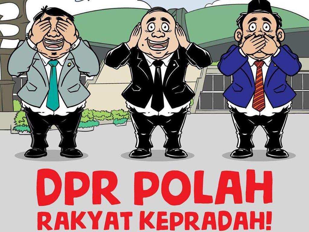 Kritikan Karya Adalah Doa: DPR Polah Rakyat Kepradah