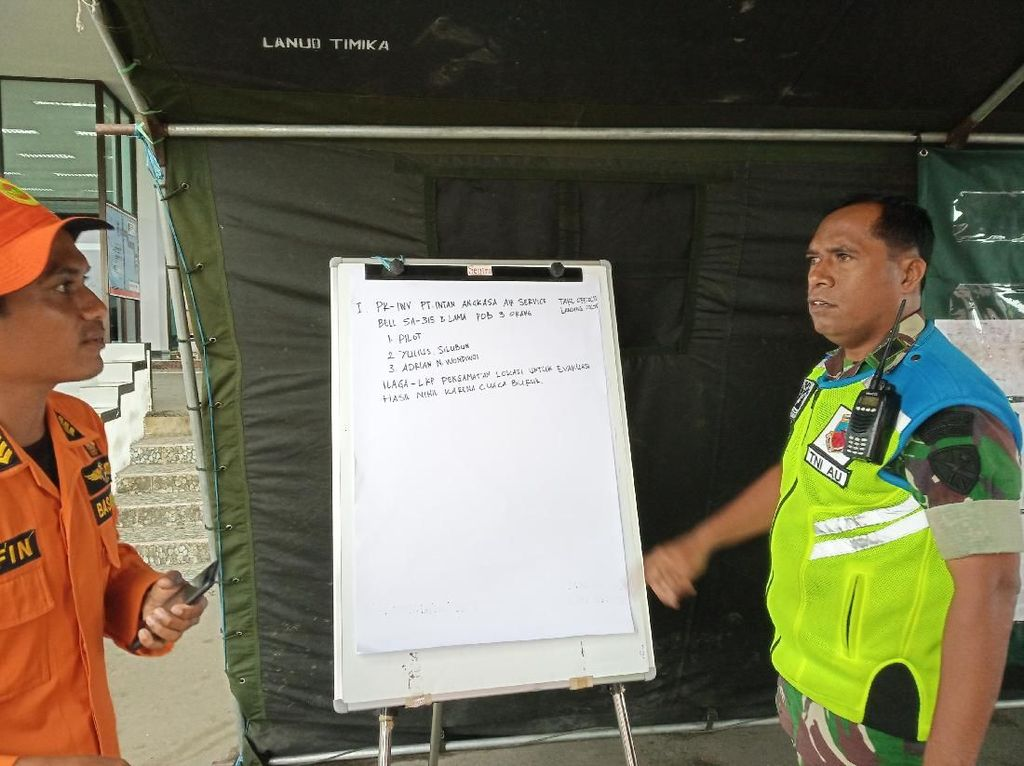 Cuaca Buruk, Tim SAR Belum Evakuasi Korban Pesawat Twin Otter Jatuh di Papua